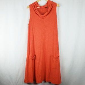 Eileen Fisher Dresses - Eileen Fisher Hemp Cottom Sleeveless  Dress